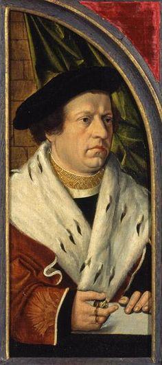 Portrait of Peter Heiman, c. 1540, Barthel Bruyn the Elder, Cologne