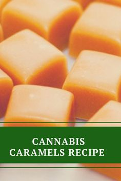 Cannabis Caramels Recipe - Original Weed Recipes  Available on http://Papr.Club as a Monthly Subscription