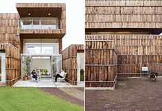 house made of recycled materials