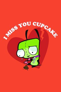 invad zim, stuff, cupcakes, funni, pinback button, awesom, gir, thing, 225 inch