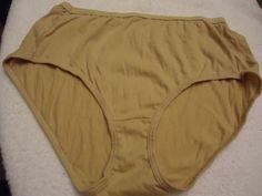 5daf57f0131b Women (1) Pr. HANES Panties Sz 7 Beige Light Brown Color #HANES #Breifs # Everyday