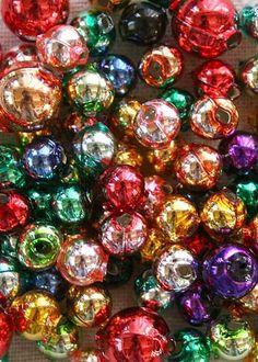 Round Blown Glass Beads