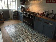 Condo Kitchen, Kitchen And Bath, Kitchen Interior, Kitchen Remodel, Kitchen Design, Hall Flooring, Kitchen Flooring, Kitchen Cabinets, Hall Tiles