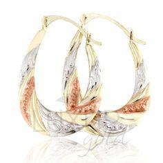 2e445e209 Luxusní zlaté náušnice v kombinaci zlata - zlaté kruhy 585/1,15gr 1930317 |  Zlatnictví-hodiny diamanty, prsteny, bílé zlato, zlaté levné prsteny,  řetízky, ...