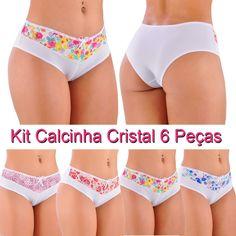 Kit Calcinha Cristal 6 Peças - Shopping de Atacado Trimoda  http://www.trimoda.com.br/collections/lingerie-no-atacado-online/products/kit-calcinha-cristal-6-pecas