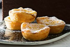 Finish off your Cantonese-inspired banquet with sweet custard-filled tarts.