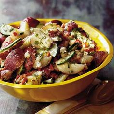 Dill Potato Salad With Feta