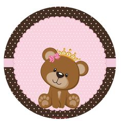 Dibujos Baby Shower, Baby Shower Invitaciones, Baby Shawer, Bear Party, Baby Shower Princess, Baby Shower Cards, Disney Wallpaper, Baby Prints, Baby Decor
