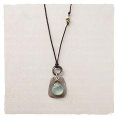 Necklaces - Drop of Rain Necklace