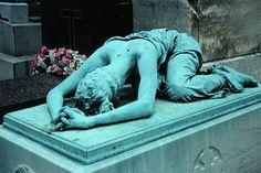 Please don't leave me....Montmarte Cemetery, France