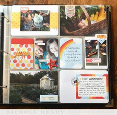 June 2014 Layout by Nichole Heady for Papertrey Ink (June 2014)