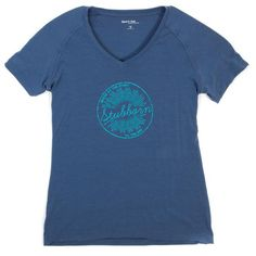 Activewear Workout Shirts Womens workout clothes Blue Tee Green Stubborn