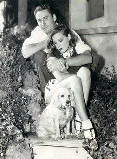 Erroll Flynn and Lila Damita 1936