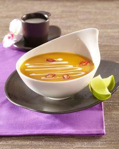 Dýňová polévka Panna Cotta, Soups, Pudding, Ethnic Recipes, Desserts, Food, Tailgate Desserts, Dulce De Leche, Deserts
