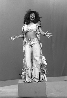 Chaka Khan. Beautiful and talented.  She should have gone a lot further than she did.