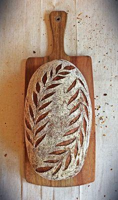Sourdough Recipes, Sourdough Bread, Bread Recipes, Bread Shaping, Bread Art, Vegan Bread, Our Daily Bread, Artisan Bread, Bread Rolls
