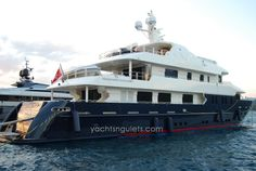 Cruise the Eastern Mediterranean and beyond to the Greek Islands aboard a super luxury yacht, the Serenity II. The Serenity can sleep up to 12 guests in a total of 5 staterooms. Expect pure sophistication, luxury in a modern yacht design. http://yachtsngulets.com/serenity-2-motor-yacht.html