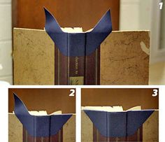 repair sewing Cmo reparar bordes muy gastados de libros How to Repair Tattered Book Edges with Book Repair Wings - `LPOKNJB Book Care, Book Repair, Bookbinding Tutorial, Book Corners, Handmade Books, Sewing Projects For Beginners, Book Binding, Book Making, Altered Books