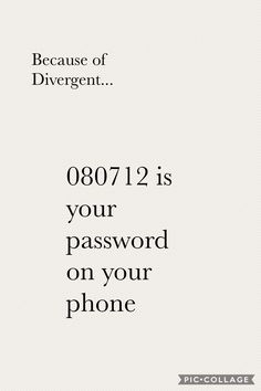 080712 is the code Tris uses in Allegiant to get into the weapons lab. Divergent Jokes, Divergent Four, Divergent Hunger Games, Divergent Fandom, Divergent Trilogy, Insurgent Quotes, Divergent Insurgent Allegiant, Tris Und Four, The Fault In Our Stars