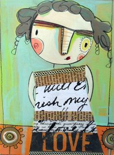 i've been following Magaly Ohika's blog for awhile.  she's an awesome person and has a very distinct style.