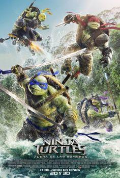 Ninja Turtles. Fuera de las sombras. Estreno 17 de junio en Cinezona. CC Zona Este. Cines en Sevilla.