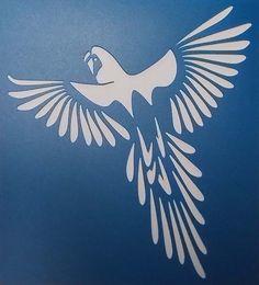 Perroquet volant 01 par kraftkutz sur Etsy