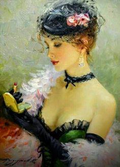 Konstantin Razunov Russian Painter.