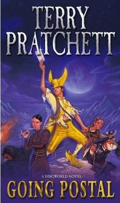 Going Postal by Terry Prachett. Love all Terry Prachett's books. So very sad to hear of his death this week. (March 2015)