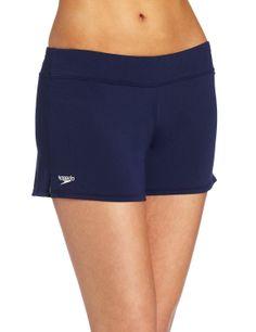0eceb493c8 Amazon.com : Speedo Women's Endurance Solid Swim Short Coverup : Fashion Board  Shorts : Sports & Outdoors