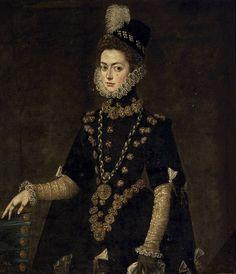 Catalina Micaela Attributed to Pantoja de la Cruz, Juan Date: 1585