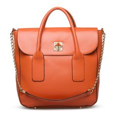 Sebree orange carryall - I love everything about this, but it's so huge!  That's is both good and bad.  Good because I can pack lots of stuff in it... and bad because I can LOSE lots of stuff in it.  ;)