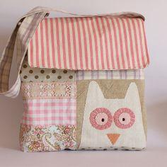 Bag owl applique   Flickr – Compartilhamento de fotos!