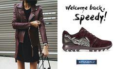 La sneaker Speedy - che avete così amato la scorsa primavera - reinterpretata coi colori più hot della nuova stagione... e con la nuova tecnologia #blusoft #memory! #Stonefly #shoes #scarpe