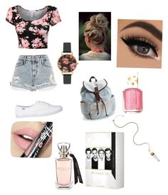"""Untitled #2"" by dnorgel on Polyvore featuring River Island, Aéropostale, Olivia Burton, Fiebiger, Essie, women's clothing, women, female, woman and misses"
