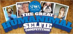 Humanimal Selfie competition for #SPCA