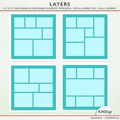 Digital scrapbook templates 12 x 12 psd tif going square photoshop templates 12 x 12 photoshop photoshop elements personal commercial 9024 pronofoot35fo Gallery