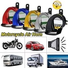 Cool Gadgets To Buy, Car Gadgets, Gadgets And Gizmos, Truck Horn, Car Horn, Motorcycle Accessories, Car Accessories, Best Electric Bikes, Old School Chopper