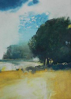 Painter's Process - Randall David Tipton: Willamette Valley Study #3