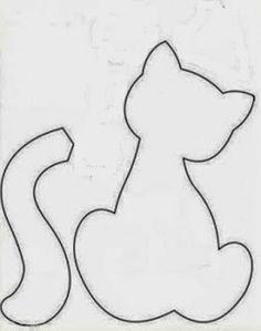 desenhos de gatos para patch aplique - Pesquisa Google
