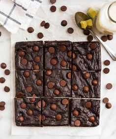 Avocado Brownies | Well Plated by Erin