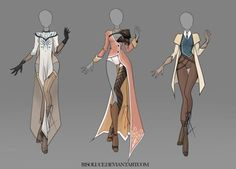 DeviantArt: More Like (CLOSED) Adoptable Outfit Auction 30-33 by JawitReen