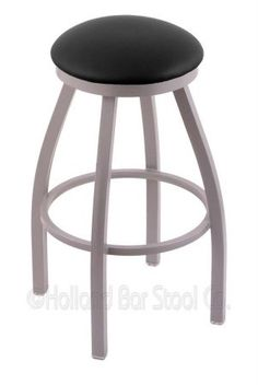 Holland Bar Stool Company 802 Misha 25-Inch Counter Stool with Anodized Nickel Finish, Black Vinyl Seat and 360 Swivel Holland Bar Stool Company http://www.amazon.com/dp/B00KKSA47G/ref=cm_sw_r_pi_dp_jtNwwb0QN6EMF