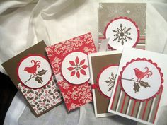 Berry Christmas gift cards