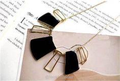 Black Enamel Choker Necklaces -  - Chokers, Look Love Lust - 4