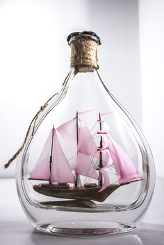 Your place to buy and sell all things handmade Gifts For Husband, Gifts For Girls, Gifts For Him, Sailboat Art, Nautical Art, Pirate Ship Wheel, Ship In Bottle, Gifts For Sailors, Presents For Men