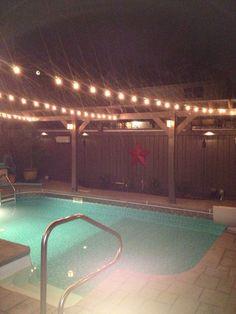 New yard lights