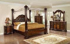 Handly Manor Pecan 7 Pc King Panel Bedroom 2 899 99