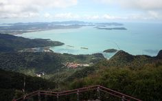 Langkawi Island, view from Langkawi Cable Car.
