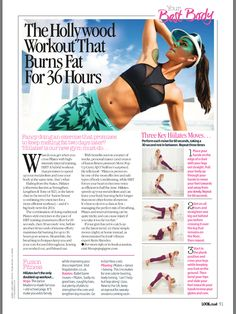 Ballerina Body, Lucky Man, Pilates, Burns, Fitbit, Strength, Muscle, Fat, Exercise
