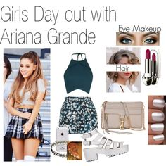 fashion ariana grande looks girls day out with ariana grande created ...